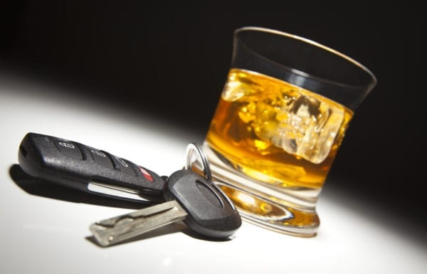 Car Keys and Alcohol
